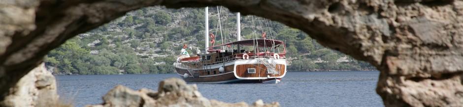 Gulet vakantie in Turkije