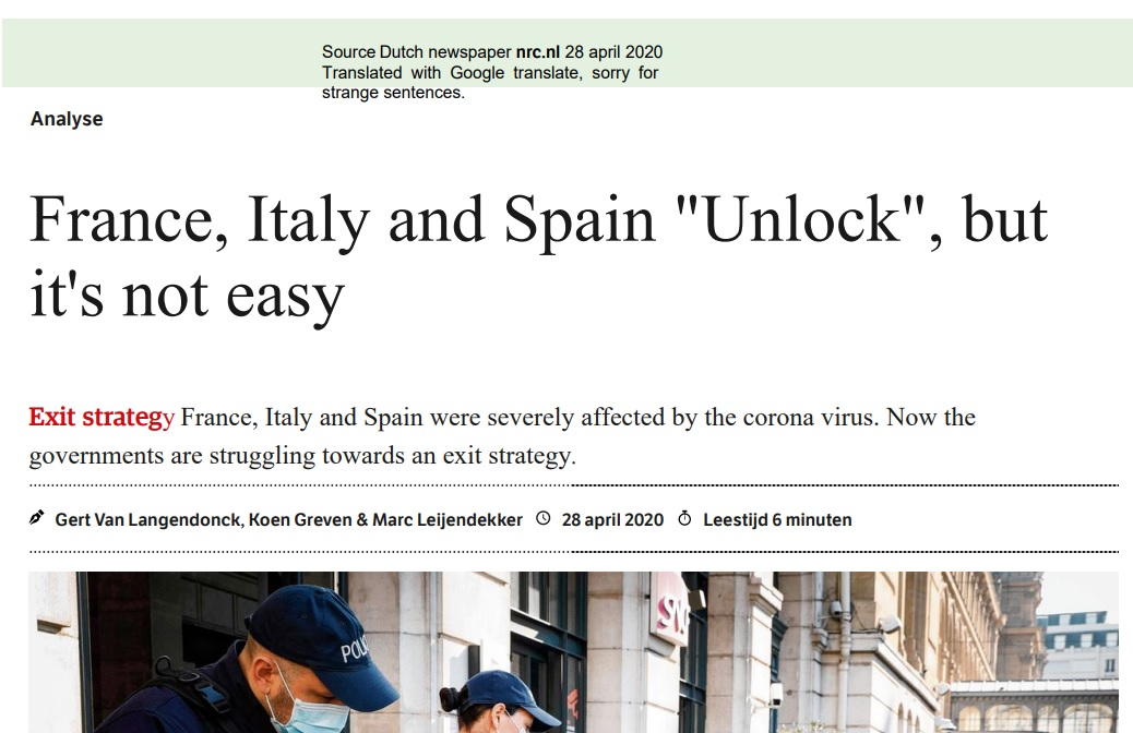 Article exit strategy Italy