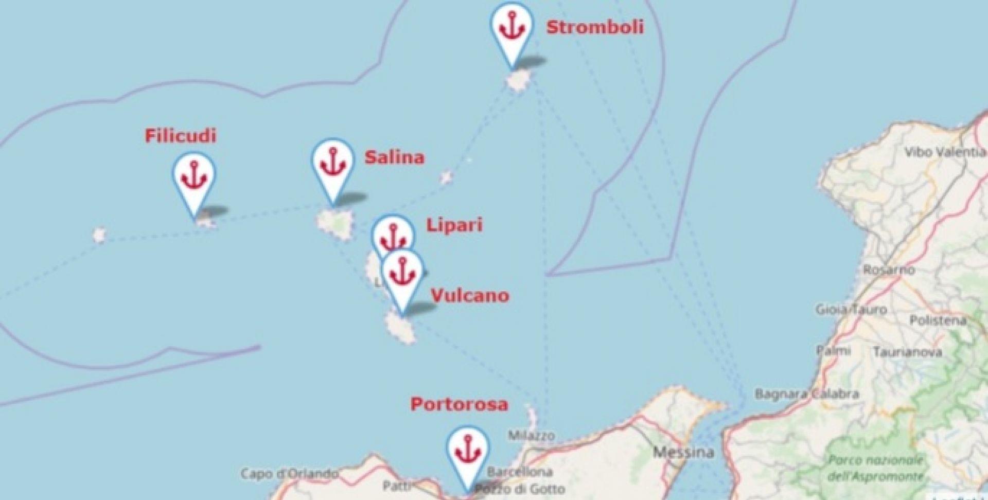 Sailingroute Sicily, Portorosa