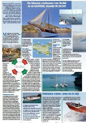 Zeilen Sicilie