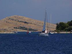 boot achter boot