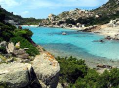 Flottielje zeilen Isola di Spargi